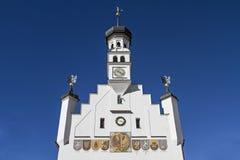City hall in Kempten Royalty Free Stock Photo