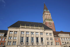 City Hall. Kiel Royalty Free Stock Photos