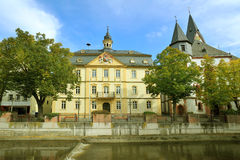 City hall in Kirn, Germany Royalty Free Stock Photos