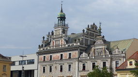 City hall. In Kolin in central Bohemia Royalty Free Stock Photos
