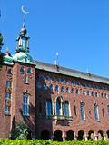 City Hall in Kungsholmen (Stockholm, Sweden) Royalty Free Stock Image