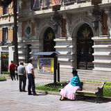 City Hall of La Paz, Bolivia Stock Photo