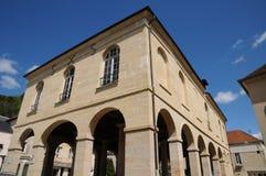 The city hall of La Roche Guyon Stock Image