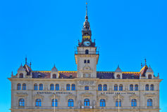 City hall of Laa an der Thaya Stock Images