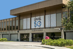 City hall (Laval). Laval (/ləˈvæl/; French pronunciation: [laval] ( listen)) is a Canadian city in southwestern Quebec, north of Montreal. It forms its own Stock Image