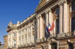 City Hall Le Capitole de Toulouse, France Stock Images