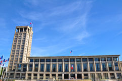City hall in le Havre, France Royalty Free Stock Image
