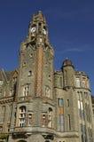 City hall of Le Touquet Paris Plage in Nord Pas de Calais Royalty Free Stock Photos