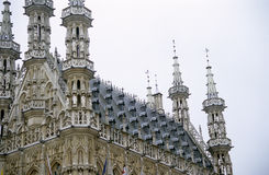 City Hall Leuven, Belgium royalty free stock photos