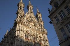 City Hall, Leuven, Belgium Royalty Free Stock Photos