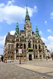 City Hall in Liberec Royalty Free Stock Photo