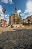 City hall in Liberec, Czech Republic Stock Images