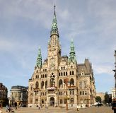 City Hall in Liberec Stock Images
