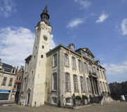 City Hall of Lier, Belgium. Town Hall of the old Flemish town of Lier, Belgium stock image