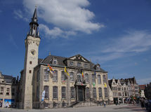 City hall in Lier in Belgium. City hall in the Flemish town Lier in Belgium stock photography