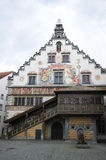 City hall in Lindau, detail Royalty Free Stock Photography