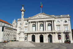 City Hall, Lisbon, Portugal Royalty Free Stock Photo