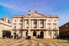 The City Hall of Lisbon, Portugal. Stock Images