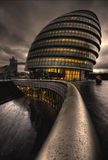 City Hall, London. City Hall on the banks of the Thames, London UK Royalty Free Stock Photography