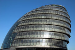 City Hall (London). City Hall is the governing seat of The Mayor Of London and The LondonAssembly Royalty Free Stock Image