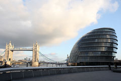 City Hall London, England Royalty Free Stock Photo