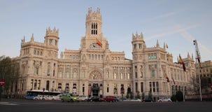 City Hall, Madrid stock footage