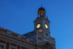 City hall in Madrid, Spain. Stock Photos