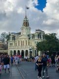 City Hall Magic Kingdom. Guests of the Magic Kingdom begin their adventure at Walt Disney World in Orlando, Florida Royalty Free Stock Photos