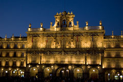 City Hall. Major Square of Salamanca, Spain Stock Photo