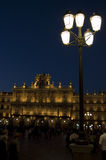 City Hall. Major Square of Salamanca, Spain Royalty Free Stock Photography