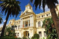 City Hall, Malaga, Andalusia, Spain Royalty Free Stock Photos
