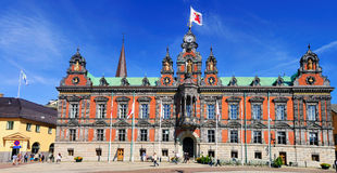City Hall of Malmö, Sweden. The town hall of Malmö, a city in the south of Sweden. The town hall is located on the central square (Stortorget Stock Photo