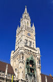The city hall in marienplatz Munich Stock Photos