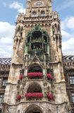 City Hall at Marienplatz in Munich Stock Photography
