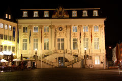 City hall on the market place in Bonn (Germany) at Royalty Free Stock Photo