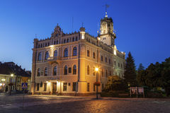 City Hall on Market Square in Jaroslaw Stock Photography