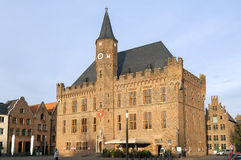 City hall on market square, Kalkar, Germany Stock Image
