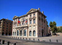 The city hall of Marseille Royalty Free Stock Photo