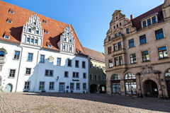 The city hall in Meissen Stock Photo