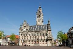 City hall of Middelburg Stock Photos
