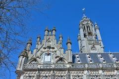 City hall in Middelburg, Netherlands Royalty Free Stock Photos