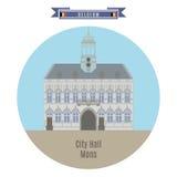City Hall, Mons, Belgium Royalty Free Stock Photo