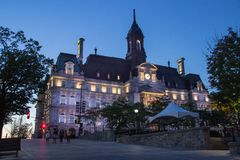 City Hall of Montreal Canada royalty free stock image