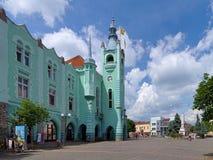 City Hall in Mukacheve, Ukraine Royalty Free Stock Image