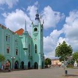 City Hall in Mukacheve, Ukraine Stock Image