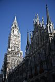 City hall in Munich. Building of Rathaus (city hall) in Munich, Germany Stock Image
