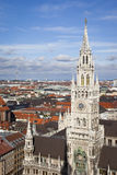 City hall munich Royalty Free Stock Images
