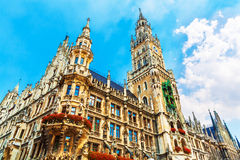 City Hall in Munich, Germany Stock Photos