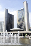 City Hall and Nathan Phillips Square in Toronto Royalty Free Stock Photography
