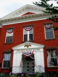 City Hall of New Milford. Picture of the Town Hall of New Milford, Connecticut Stock Photography